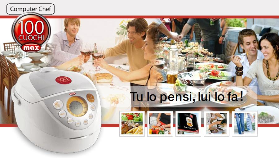 100Cuochi Computer Chef Max Italia